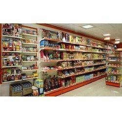 Industrial Grocery Display Racks