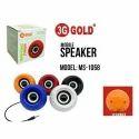 3g Gold Mobile Speaker, Ms - 1058