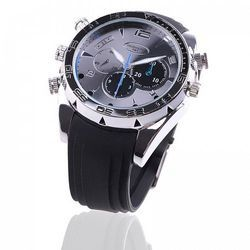 8GB Waterproof Watch Camera Camcorder DVR 1080P with IR Nigh