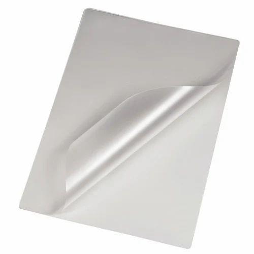 Transparent Matt Lamination Sheet Size A4 Packaging