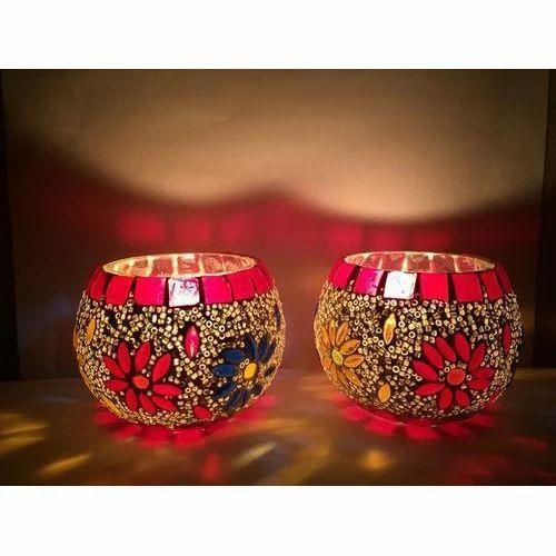 Glass Decorative Candles Votive Holder