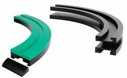 Plastic Tab Type Corner Track