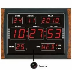 Spy Wall Clock Camera Full HD Spy Camera 4K Home Security