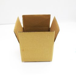 Brown Packaging Corrugated 4 x 4 x 3 Inch 3 Ply Box