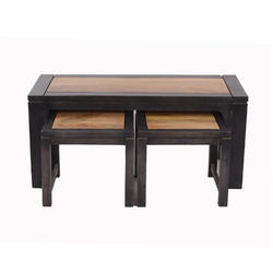 Natural Fibres Export Wooden Designer Benches