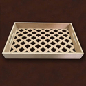 Rectangle Tray with a Jaali Design