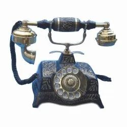 Brass Antique Telephone, Size: 250x250x235mm