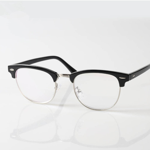 Half Frame Round Spectacles, Half Frame Spectacles - Vivek Optical ...