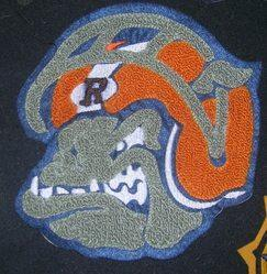 Bulldog Mascot Patch