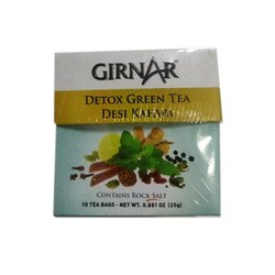 Girnar Detox Green Tea, Packaging Size: Available In-10-36-100 Pouches