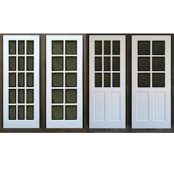 White UPVC Double Glazed Doors