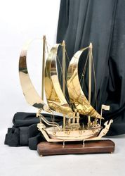 Brass Decorative Ship