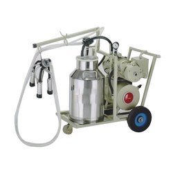 Single Bucket Trolley Milking Machine