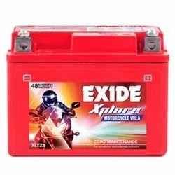Exide Two Wheeler Batteries, Battery Type: VRLA, Model Name: Xltz3