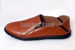 Men Leather Face - Casual Slip-Ons