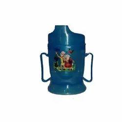 Plastic Round Kids Water Bottle, Capacity: 400 Ml