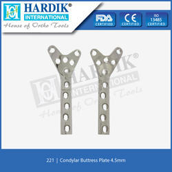 Condylar Buttress Plate 4.5mm