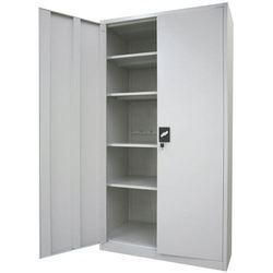 White TGPE Steel Cabinets