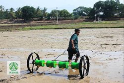 KSNM Mild Steel, Plastic Manual Seeder, For Wetland Paddy Seeding