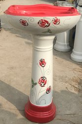 Koalar Ceramic Vitrosa Pedestal Wash Basin, For Bathroom