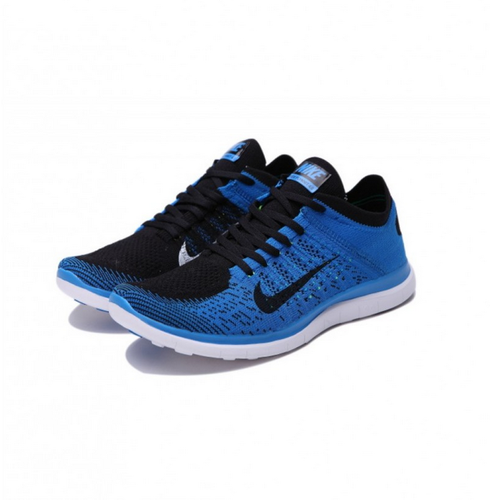 Nike Free Flyknit 4.0 Blue Shoes