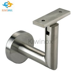 SS Glass L Railing Bracket