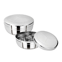 Stainless Steel Ss Spice Box, For Kitchen, Shape: Circular