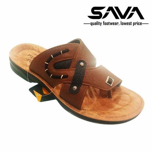 b4614036d Men Stylish PU Slippers, Size: 6-10, Rs 155 /pair, Sava Udyog | ID ...