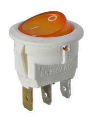 Illuminated Round Rocker Switch