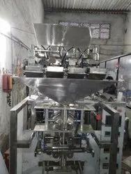 4 head chips packaging machine