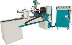 CNC Wood Turning Lathe Machine