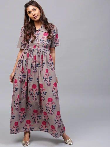 aadad8b05e1 Cotton Printed Dress