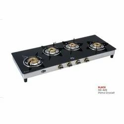 MC-429 Glass Four Burner Stove