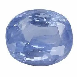 Fancy Light Blue SI Clarity Oval Cut Natural Ceylon Blue Sapphire