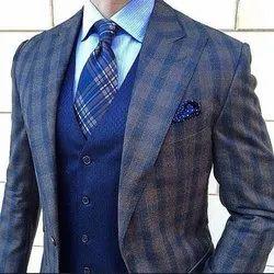 Mens Formal Wool Suit, Size: S-xxl
