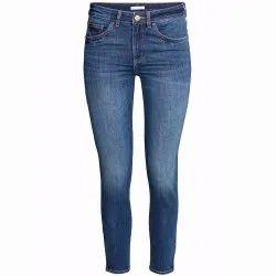 Blue Ladies Skinny Denim Jeans