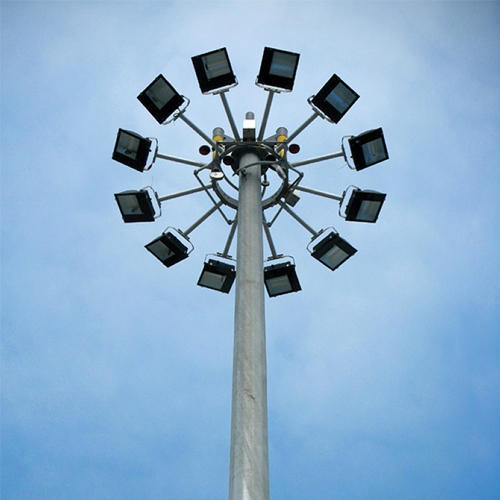 Highmast Lighting Poles 30m High Mast Lighting Pole Wholesale Supplier From Ahmedabad