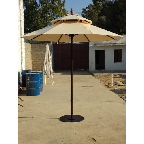 Polyester Patio Parasol Garden Umbrellas Size 9 Ft Diameter