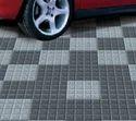 Dark & Light Grey Four Plus Tiles, Size: 12 Inches