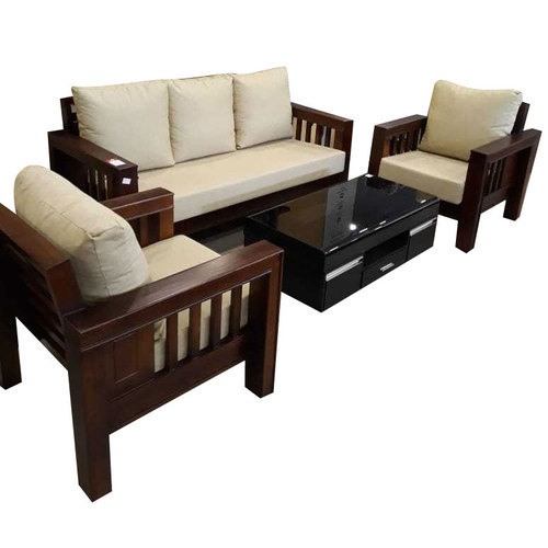 Off White Seat Teak Wood Sofa Set Rs 33000 Set Asim Furniture