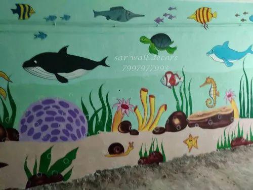 Asian Nursery Classroom Wall Designs Ideas In Hyderabad Id 22194533712