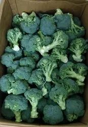 A Grade Green Broccoli, Packaging Type: Carton, Packaging Size: 20 Kg