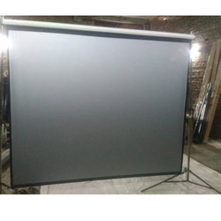 Projector Screen 3D Silver