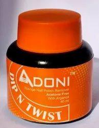 Adoni 'Dip , Twist, Remove' 40 ml Acetone free, Nail Polish Remover : Kascap India.