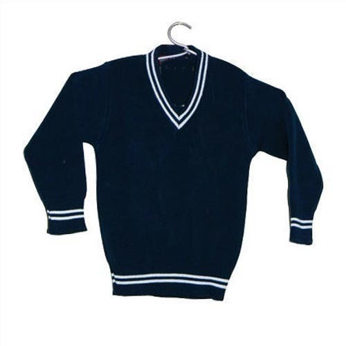 Blue V Neck School Sweater at Rs 250 /piece | New Madhopuri ...