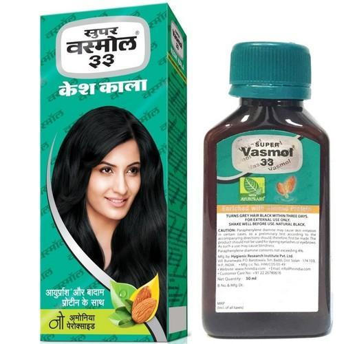 Super Vasmol Kesh Kala Hair Oil, Packaging Size: 100 mL