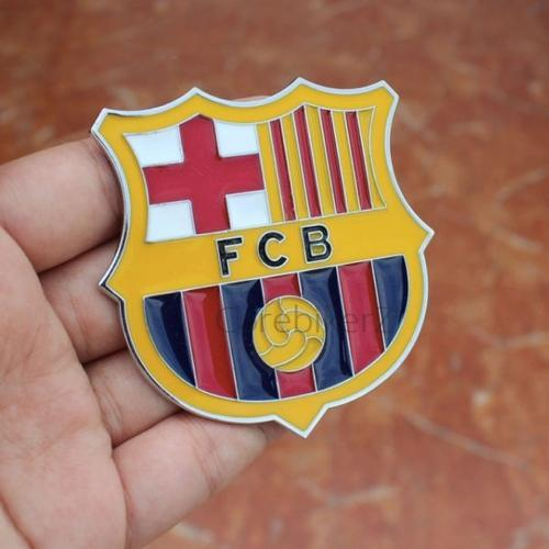 Fc Barcelona Stickers.Fc Barcelona Auto Cover Decal Football Team Metal Sticker