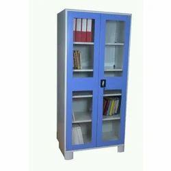 Storage Systems Metal Glass Door Almirah