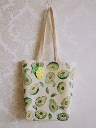 Recycled Organic Canvas Market Tote Bag