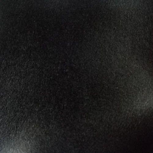 Black Pu Leather Fabric
